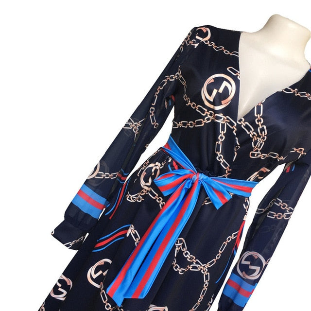 7308409297 African Dresses For Women African Clothes Africa Dress Print Chiffon Dashiki  Ladies Clothing Ankara Plus Size. Hover to zoom