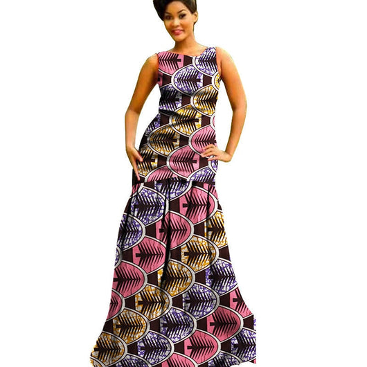 African Dresses For Women Sleeveless Casual Plus Size ...