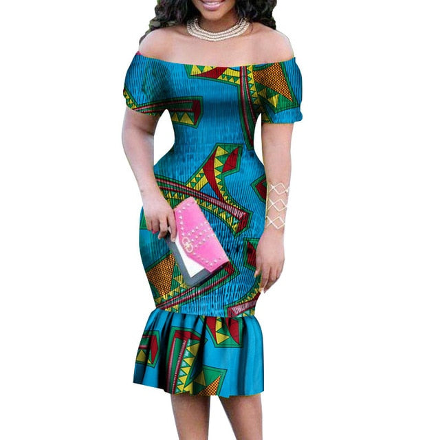 15a43f73a1b Hover to zoom · African Dresses for Women 2018 New Plus Size Fashion Style  Short Sleeve ...