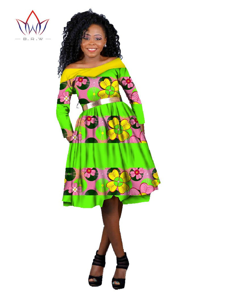 d415900b25f African Dresses for Women New Designs Women Dress Blusas Dashiki for Women  Long Sleeve Dress Plus. Hover to zoom