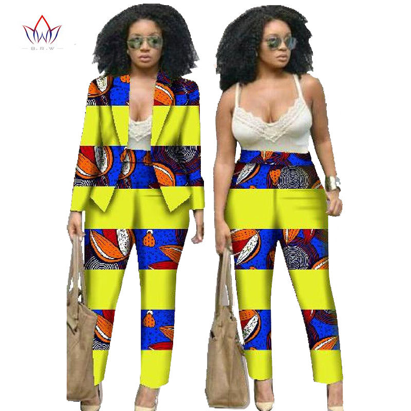 67a55aee19b African Dresses for Women Suits Women Winter Two Piece Set Top and Pants  Women Blazers and. Hover to zoom · African Dresses for Women ...