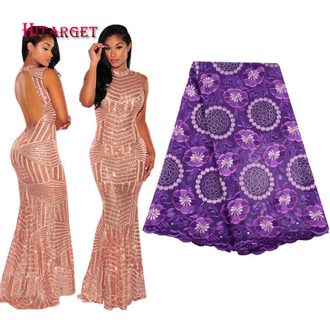 African Dresses for Women with Lace Fabric Sexy Noble Fishtail Evening Dress African Party/wedding Lace Dress Customized  WY2278