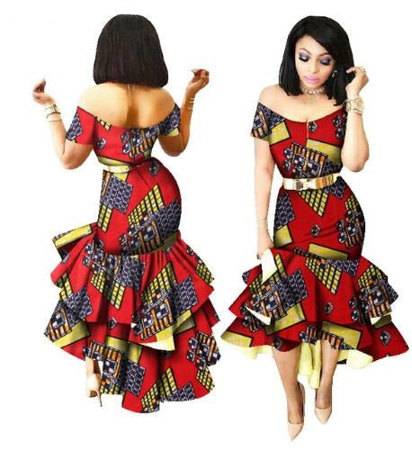 African Traditional Dresses New Arrival Cotton 2018 New