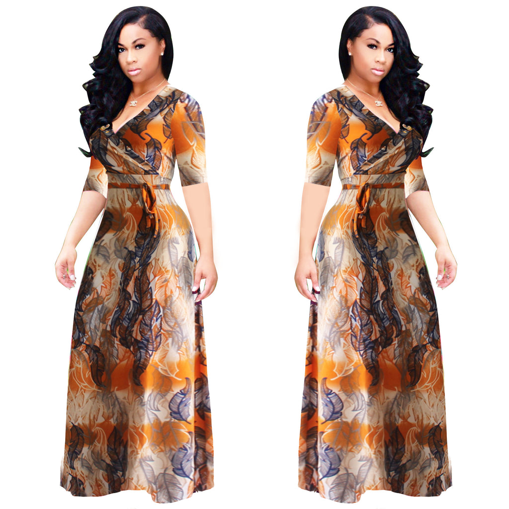 97e2e59ea2e2 African Traditional Dresses Traditional African Clothing Sale Polyester  2018 Sexy Digital Print Fashion Wind Dress New ...