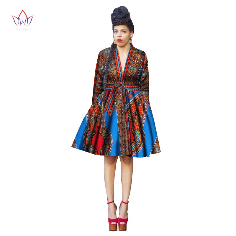 African Women Clothing Vintage Dress Party Dresses African Bazin