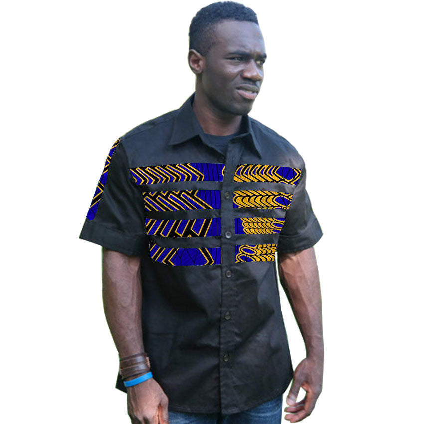 6e151adfd4de African print mens shirts fashion man dress tops male dashiki short sleeve  simple shapes t shirt. Hover to zoom