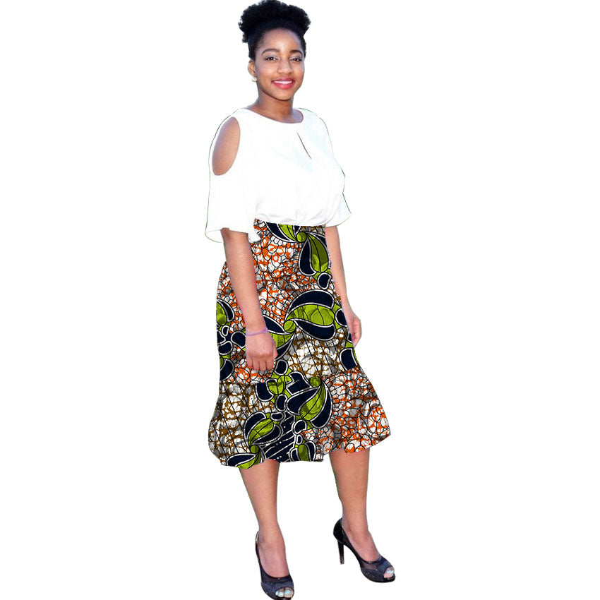 2e296a4920c Hover to zoom · African skirts for women wax customize print banquet evening  ...