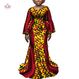 Ankara Outfits Summer Wax Fabric Skirt Sets African Wax Print 2 Pieces Skirt Suit Traditional African Womens Clothing WY6968