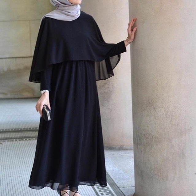 9d126ad7873ac Arab Vestidos 2019 Long UAE Abaya Dubai Kaftan Kimono Linen Maxi Muslim  Shawl Bodycon Hijab Dress Women Turkish Islamic Clothing