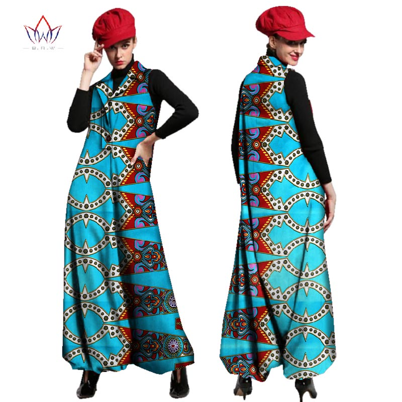 753b2a6ae49 Autumn beautiful and cheap african women jumpersuit with print women  african clothing dashiki pants loose plus size none WY2443