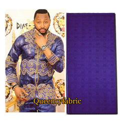 BQ030 African Bazin Quality Soft African Batik Fashionable Traditional Woman and Man Clothing Fabric for boubou brocade