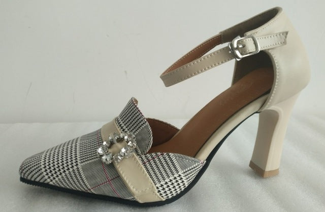 ... Big size 34-46 New Sandals High heel Women s shoes Summer Lady s shoes  Fashion diamond ... b15329a61dca