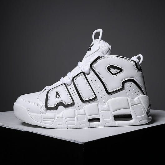 Chiffoned Men high top Tenis Trainers