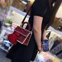 Brand Crossbody Bags For Women Luxury Handbags Women Bags Designer Messenger Bag Wool bolsa feminina Channels Women tassel