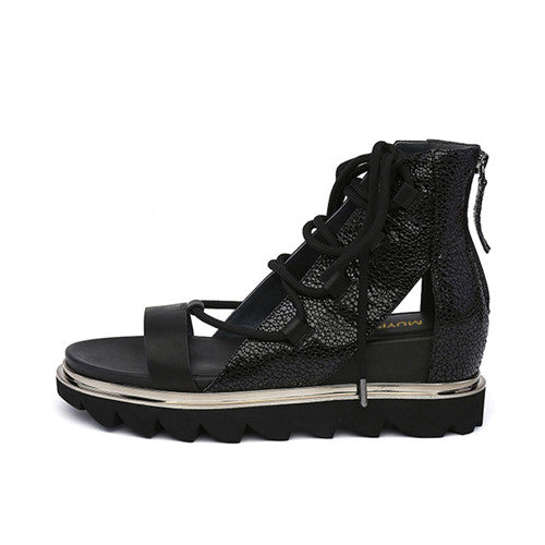 bde172d7c415 ... Candy Color Sandals Height Increasing Women Gladiator Sandal Platform  Wedge Shoes Woman Valentine Shoes Creepers HL98 ...