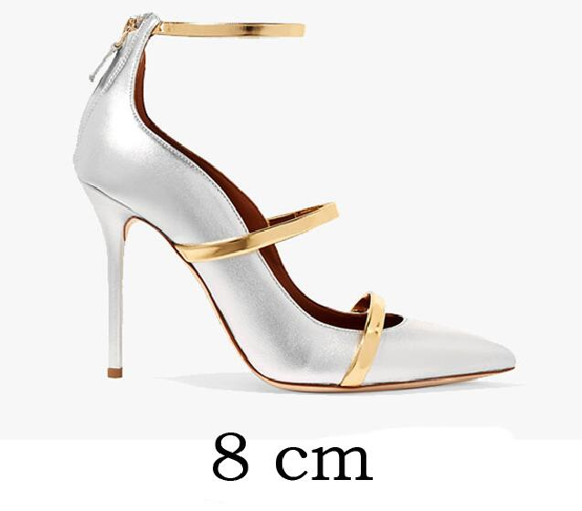 f5c5798f3a1 Carollabelly Brand Shoes Straps Sexy Pointed Toe High Heel Wedding Dress  Shoes 8CM/10CM Woman Stiletto Gladiator Pumps