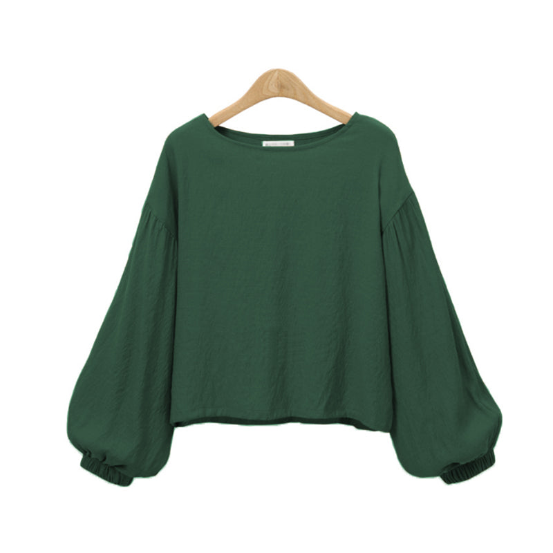 6e0d570fd33 Hover to zoom · Casual Blouse Plus Size S-5XL Women Long Sleeve Blouse Tops  Elegant Puff Sleeve Shirts