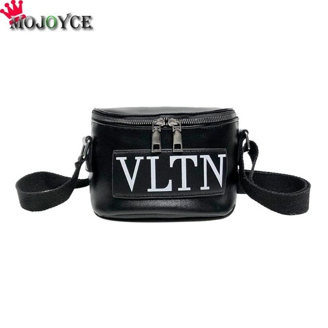 d8d564c0d434 ... Casual Waist Bag PU Leather Belt Women Girls Fanny Chest Packs  Messenger Shoulder Handbags Bags Bolsa