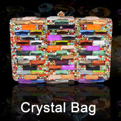 Crystal Evening Bag Wedding Party Purse bags Banquet Clutch Women Bling bags Wedding Party Handbag Ladies bride Clutch chain 386