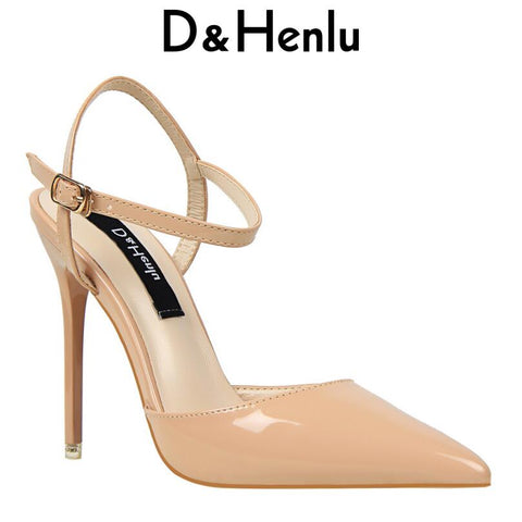 7cb311f52738 Image of  D amp Henlu  Wedding Shoes Party Shoes Women Pointed Toe  Slingbacks Pumps ...