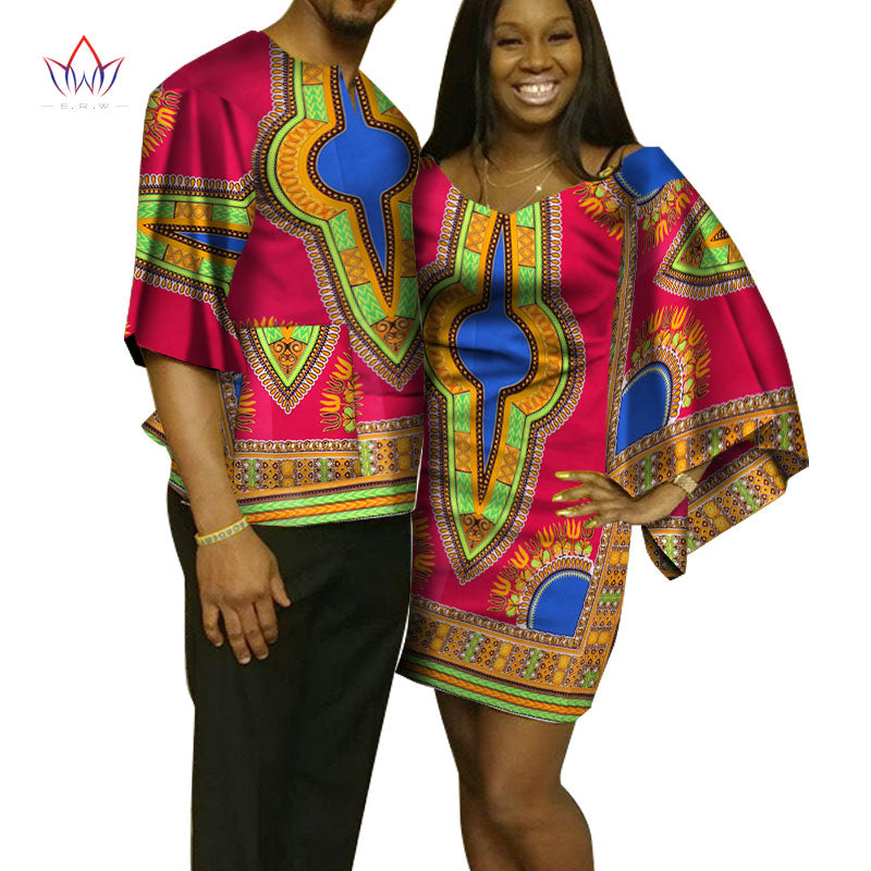 10985216011 ... Women and Men Shirt African Clothes for Lovers Traditional African.  Hover to zoom
