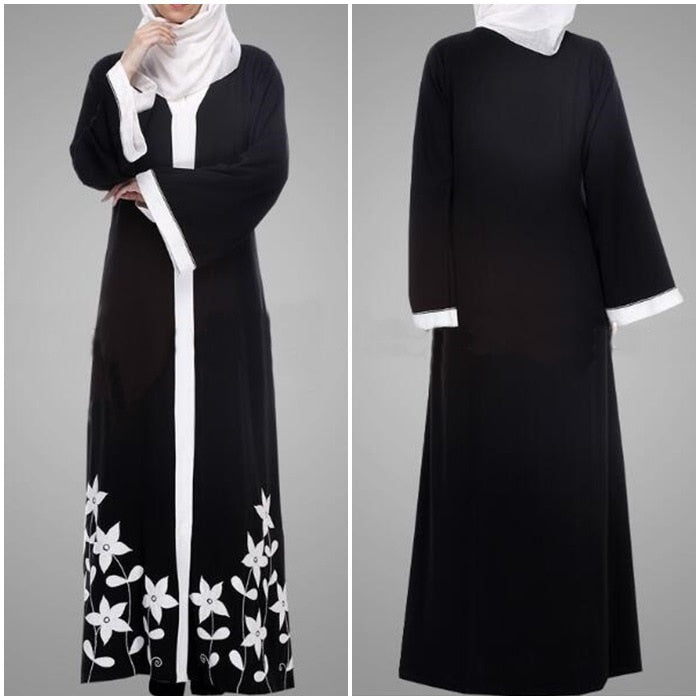 Real New Arrival Adult Formal Jilbabs And Abayas 2018 Splicing