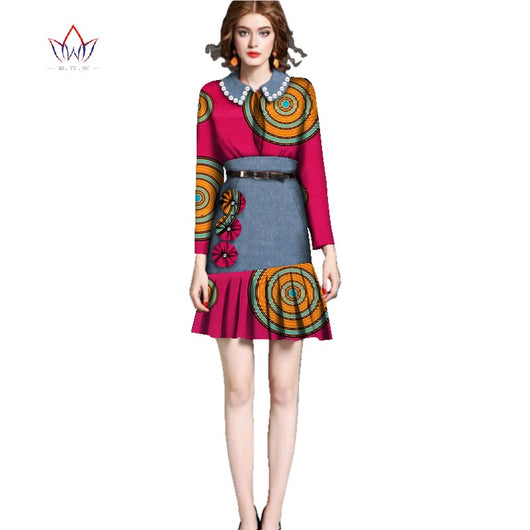 Dresses Plus Size Women african clothes for women peter pan ...