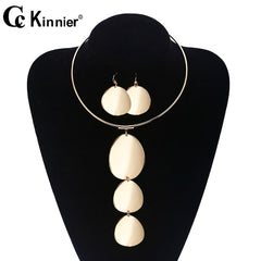 Image of Dubai gold beads wedding jewelry set, the bride necklace, fashion Africa Nigeria exaggerated style sweater chain in Europe