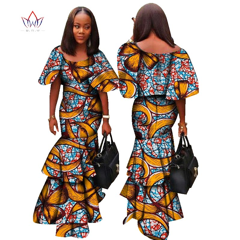 ... Fashion Africa Dresses for Women Dashiki Sxey Elegant Traditional  African Clothing Plus Size Long Dress for ... d123d2d4596c