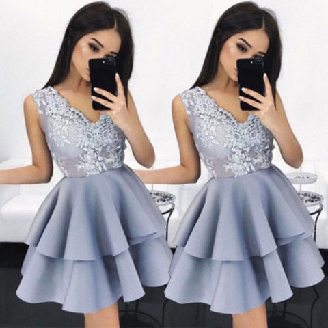 Fashion Women Lace Tutu Summer Sleeveless Mini Dress Club Party Evening Ball Gown Formal Prom Princess Princess Dress Sundresses
