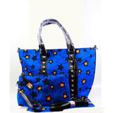 Fashion beautiful women wax Handbag set,high quality african ankara wax ONLY bag set WITHOUT wax fabric FREE SHIPPING