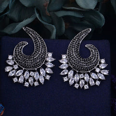 GODKI Luxury Cubic Zirconia Earrings For Women Wedding Earrings Shinning Wedding Stud Earring