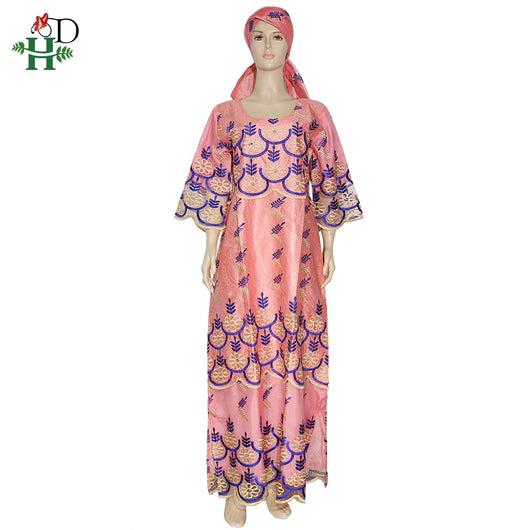 H&D South Africa Ankara 2020 robe africaine femme Traditional African Dresses Women Plus Size Long Dress Dashiki Bazin Clothes