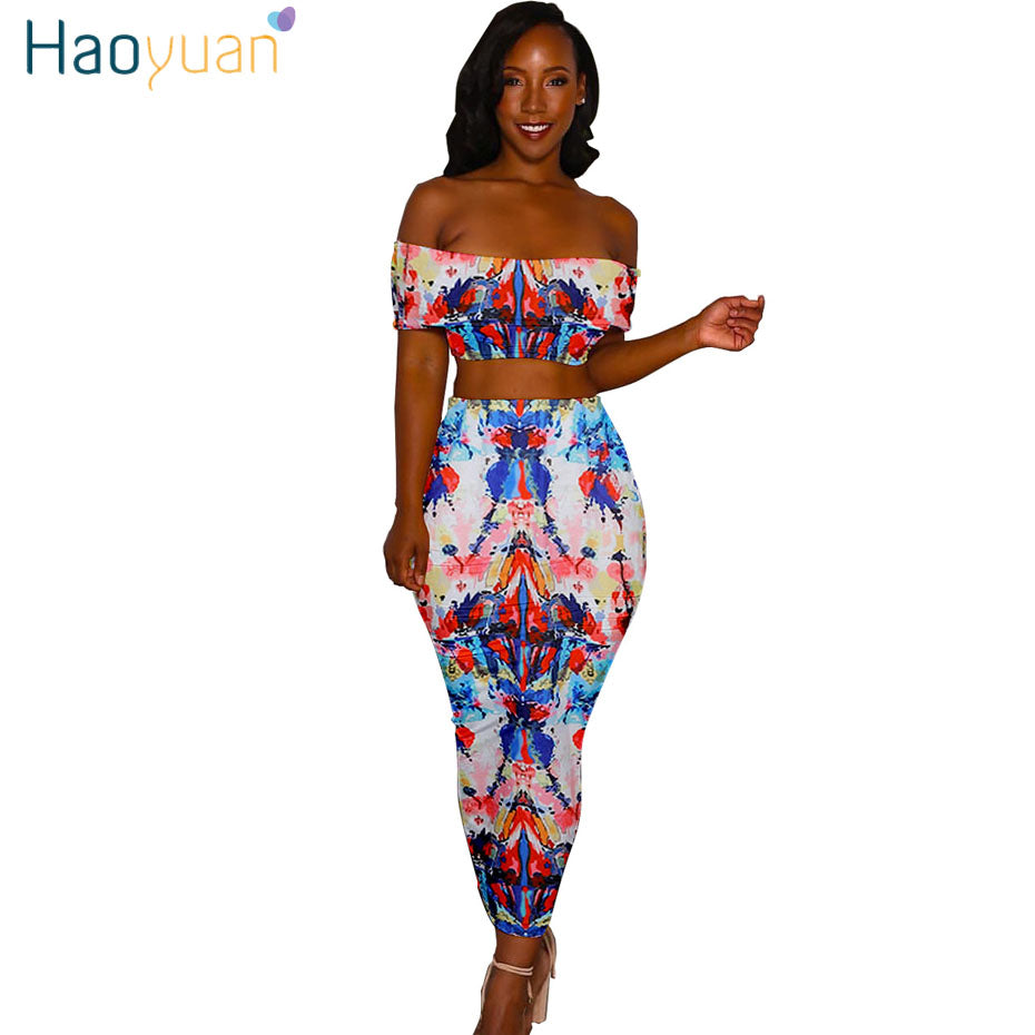 d50b80869d2 Source https   www.owame.com products haoyuan-two-piece-sexy-maxi-dress -women-clothes-2018-summer-bodycon-dress -plaid-tie-dye-print-casual-backless-long- ...