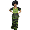 African Women top with pants and scarf Clothing, Ankara dress,Dashiki Dress, African Dresses - Owame