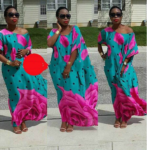 African Print,Dashiki Dress, African Dress, African Styles,African Fabric,African Clothing - Owame