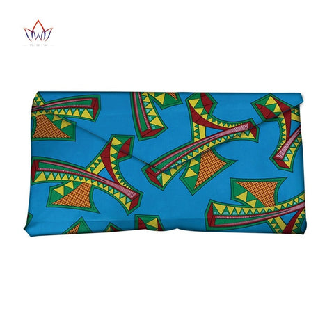 Image of High Quality Bazin Riche African Wax Prints Fabric Women Fashion Hand Bag for Party Super Wax Hollandais with Hand Bag WYb382