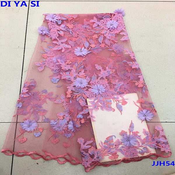 High Quality Swiss Voile Lace 2019 3d lace African Voile Swiss Lace Fabric African Swiss Cotton Voile Lace Fabric For Wedding
