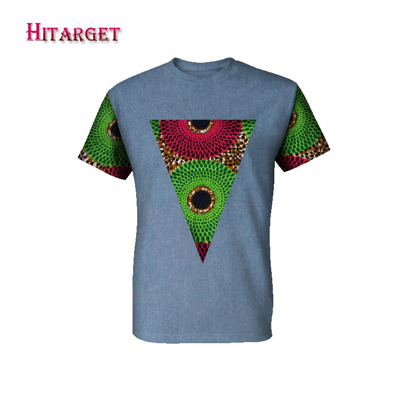 0e8f4cffcfad Hover to zoom · Hitarget New 2018 Style African Print t Shirt Short Sleeve  Casual Tops Men Dashiki Print Shirt