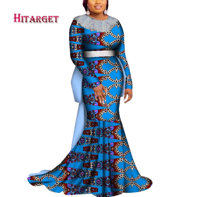 8ba5c38757c ... african print dresses with tassel for party wedding. Hover to zoom