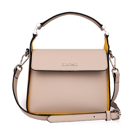 KONPAD women's bag in autumn and winter 2017, the new women's bag has a stylish one-shouldered handbag