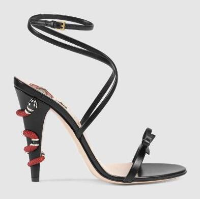 14349c1c93 Kaeve sexy Woman Lovely lips Gladiator Sandals Summer snake high heel  Sandals Factory custom made Celebrity Shoes