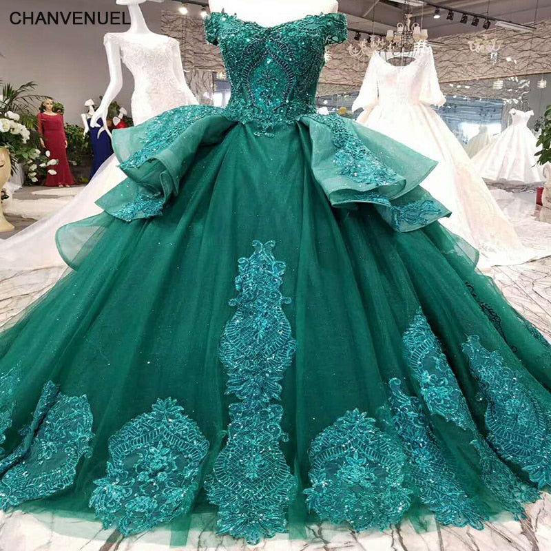 fde947a5566 LSS006 vestidos de festa longo emerald evening dress long lace ...
