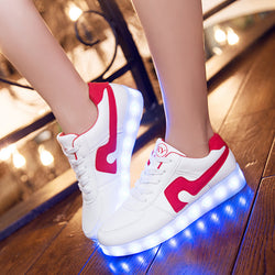 Led Shoes Luminous Sneakers with Luminous Sole Women's Summer Shoes Men and Women Lovers Shoes zapatillas con luces