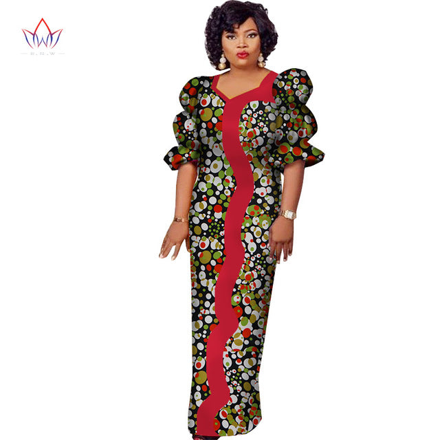 11bf3563166 ... Women Dashiki Plus Size African Clothes Bazin Riche. Hover to zoom