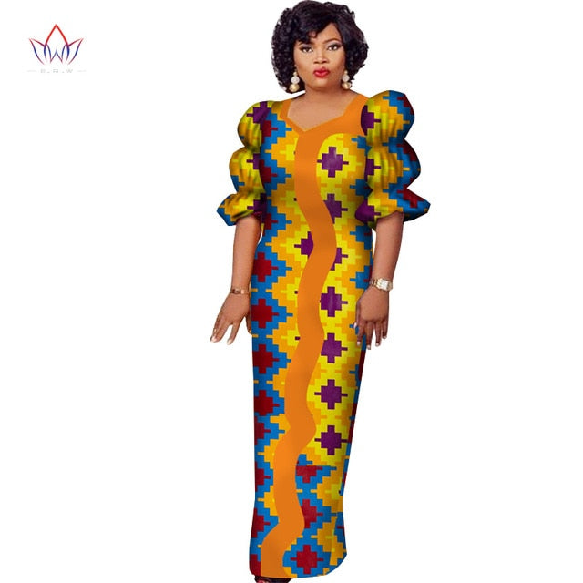 e211cec2aa3 ... Women Dashiki Plus Size African Clothes Bazin Riche. Hover to zoom
