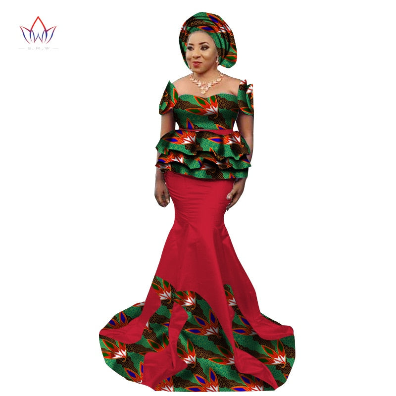 ... New Fashion African Skirt Set for Women Dashiki Elegant African Clothes  Applique Plus Size Traditional African ... 21f5a51d583f