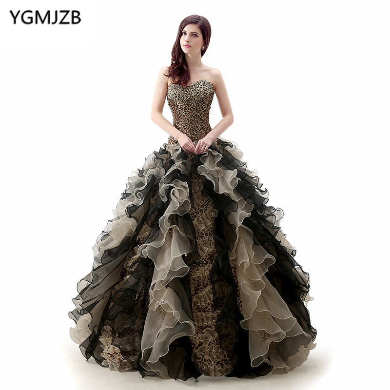 420905612e54f New Fashion Quinceanera Dress 2018 Ball Gown Sweetheart Off Shoulder Beaded  Floor Length Vestidos De 15 Long Prom Gown For Girl