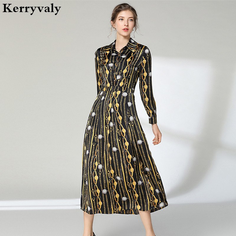 327c563ad9b New Spring Gothic Women Maxi Dress Dress Vetement Femme 2019 Large ...