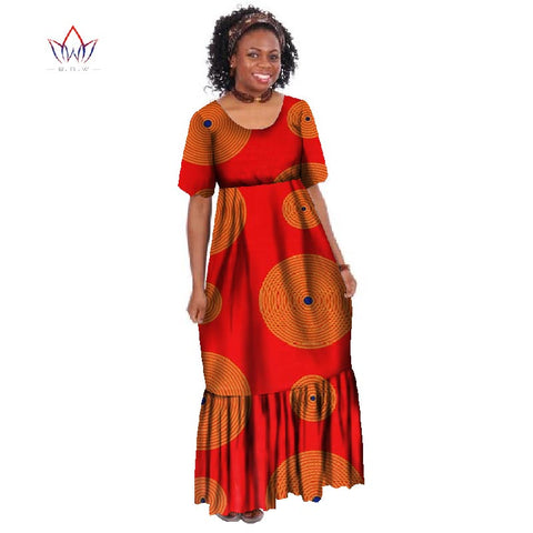 4f940245b8f ... Image of New Summer 2018 Robe Africaine Femme African Clothing For  Women Bazin Rich Plus Size ...
